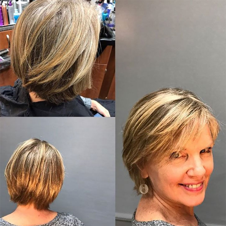 20 Short Hairstyles That Are Perfect For Women Over 60