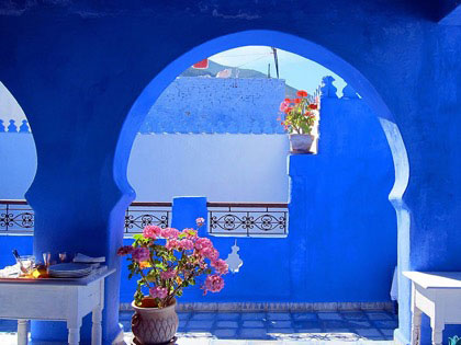 Chefchaouen, The Blue City In Morocco