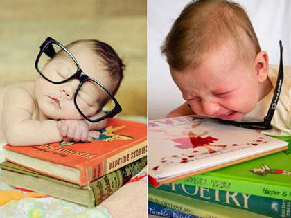 Expectations Vs Reality: 19 Hilarious Baby Photoshoot Fails